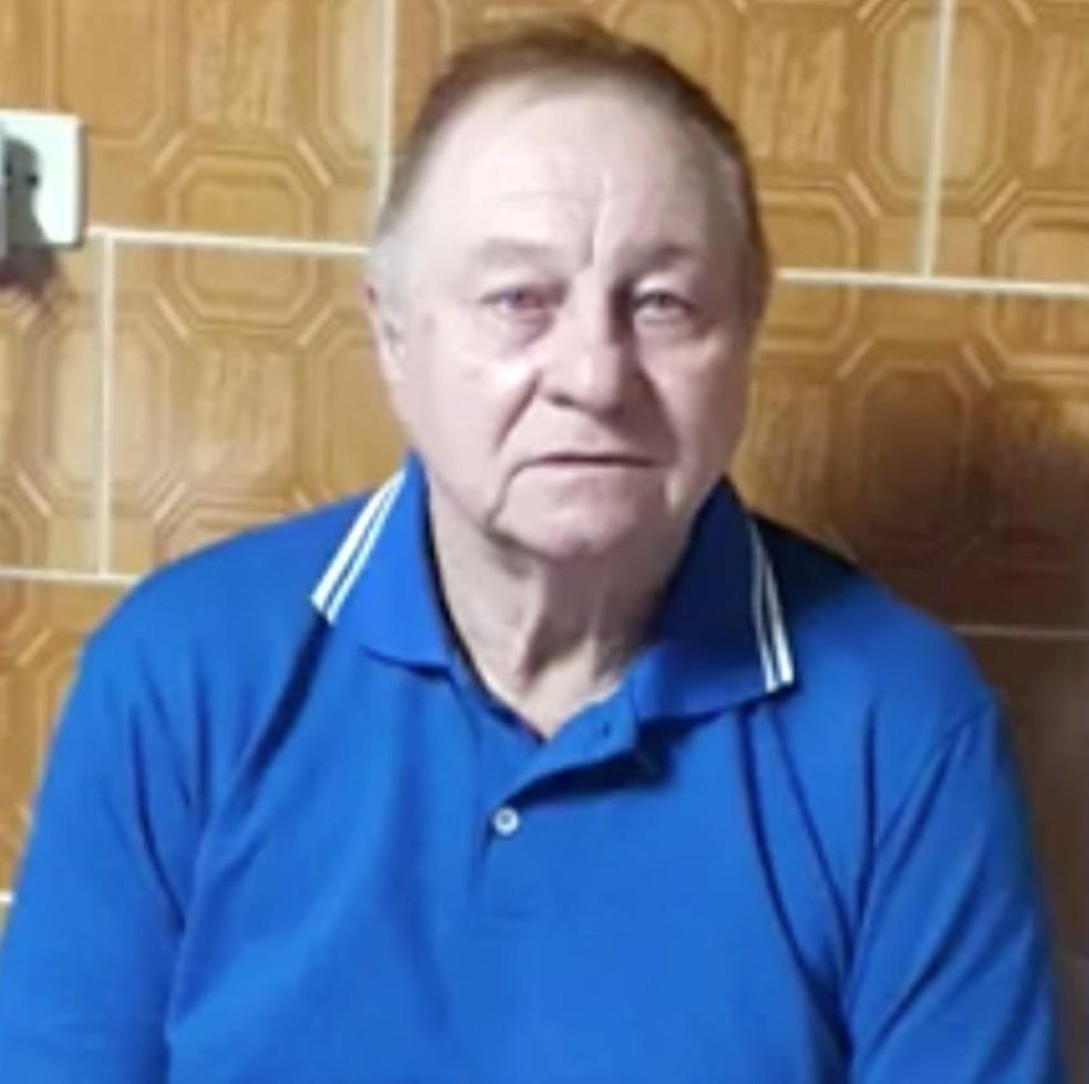 João tinha 69 anos e era operário de ferrovia aposentado. — Foto: Arquivo Pessoal