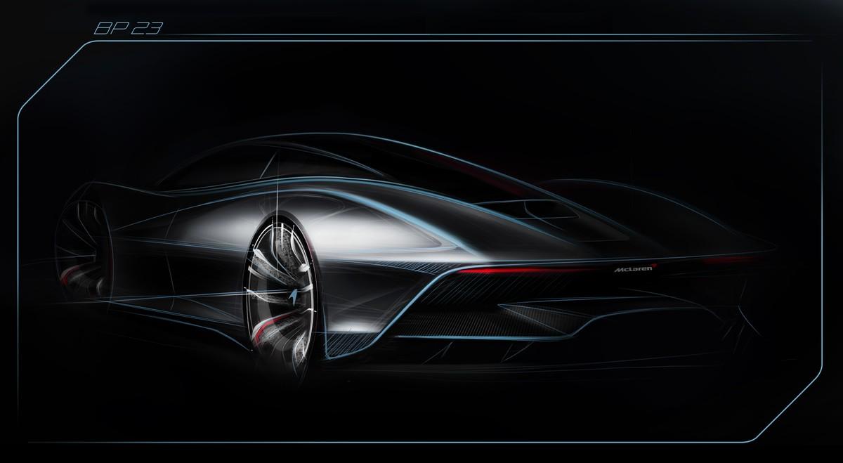 McLaren mais potente de todos os tempos terá apenas 3 lugares