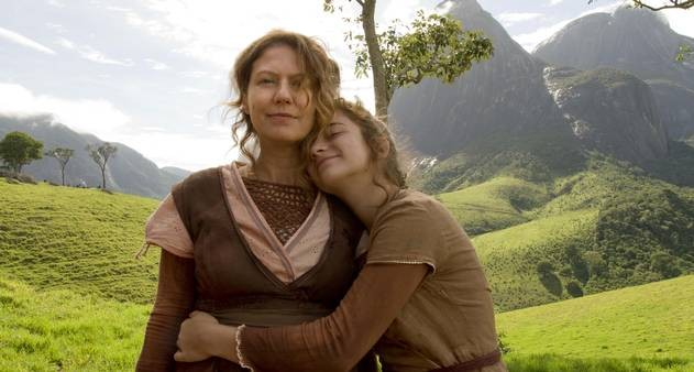 Em 'Unicórnio', Patricia Pillar e Barbara Luz interpretam mãe e filha  (Foto: Divulgação)