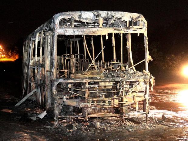 Em 48h, foram 14 tentativas e ataques a ônibus registrados em São Luís (Foto: Biaman Prado/O Estado)