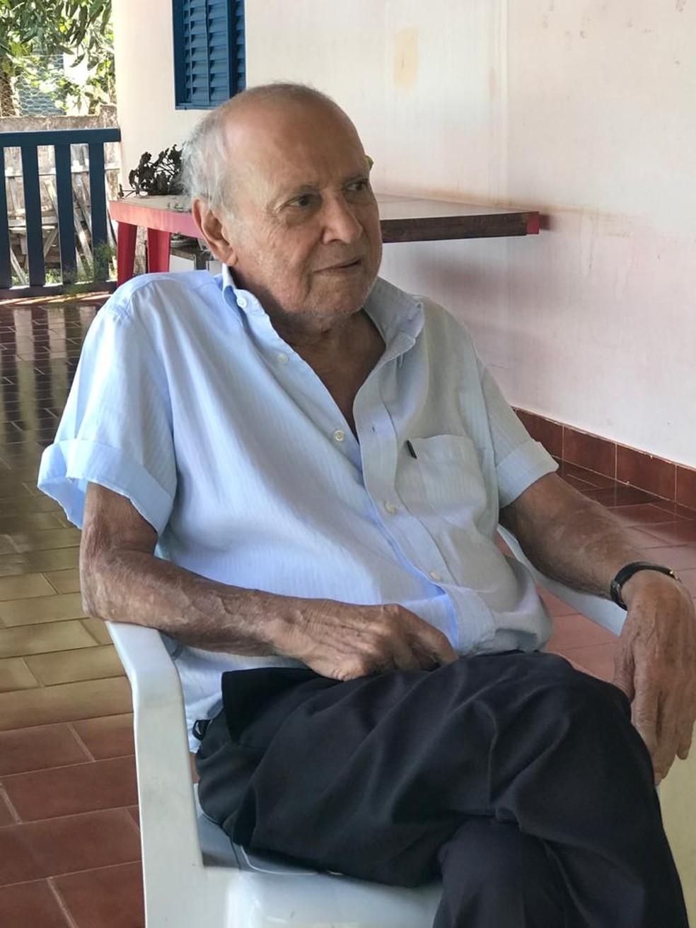 Luiz Ferreira Martins nasceu em 1935 na zona rural de Itapetininga — Foto: Luis Ricardo Marcondes Martins/Arquivo pessoal
