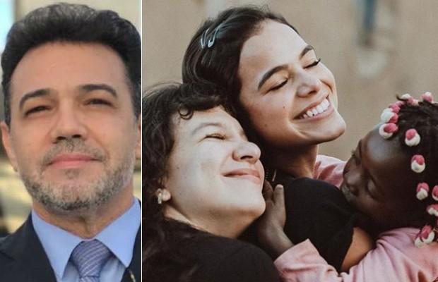 Marco Feliciano questiona viagem de Bruna Marquezine e Priscilla Alcantara à África (Foto: Twitter/Reprodução e Vatanabe Cruz/Reprodução)
