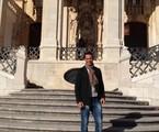 Mouhamed Harfouch na Universidade de Coimbra, em Portugal | Divulgação
