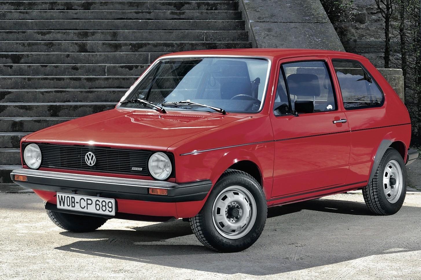 Volkswagen Golf primeira geração  (Foto: Divulgação)