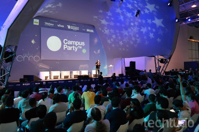 Segundo dia de CPBR8 tem Duolingo, Nicolelis e muito mais no Palco Terra (Foto: Melissa Cruz/TechTudo)