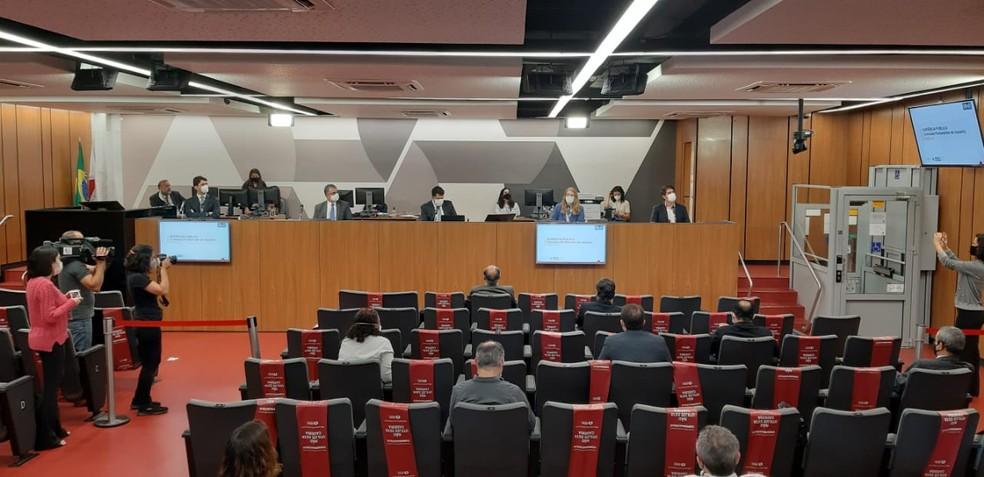 CPI dos Fura-filas na Assembleia Legislativa de Minas. Três secretários de Zema serão ouvidos nesta quarta-feira. — Foto: Thiago Philip / TV Globo