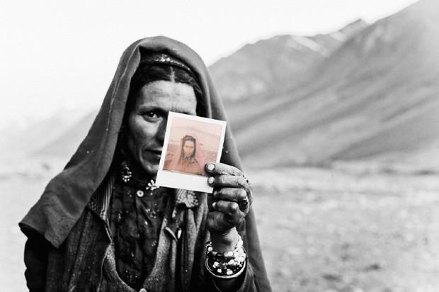 Moradores nunca tinham visto suas imagens em fotos (Foto: Fabrice Nadjari and Varial)