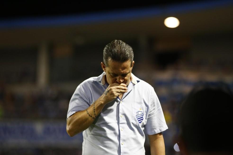 Argel Fucks comandou o CSA por 25 rodadas  — Foto: Felipe Nyland/ Gazeta de Alagoas