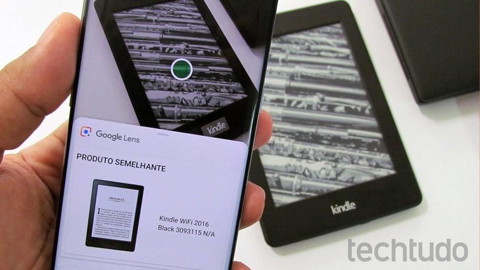 Google Lens identifica objetos com a câmera do celular — Foto: Paulo Alves/TechTudo