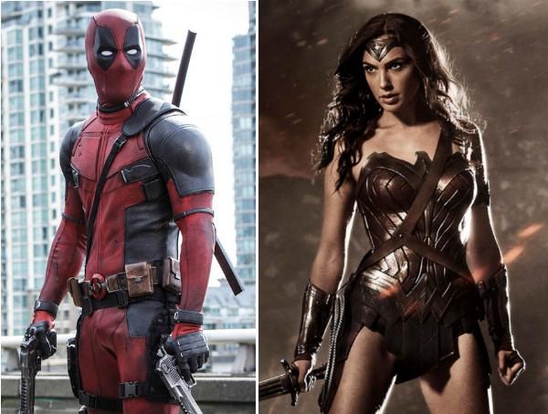 Deadpool e Mulher-Maravilha (Foto: Divulgação)