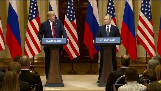 Trump e Putin negam conluio para interferir na eleição dos EUA
