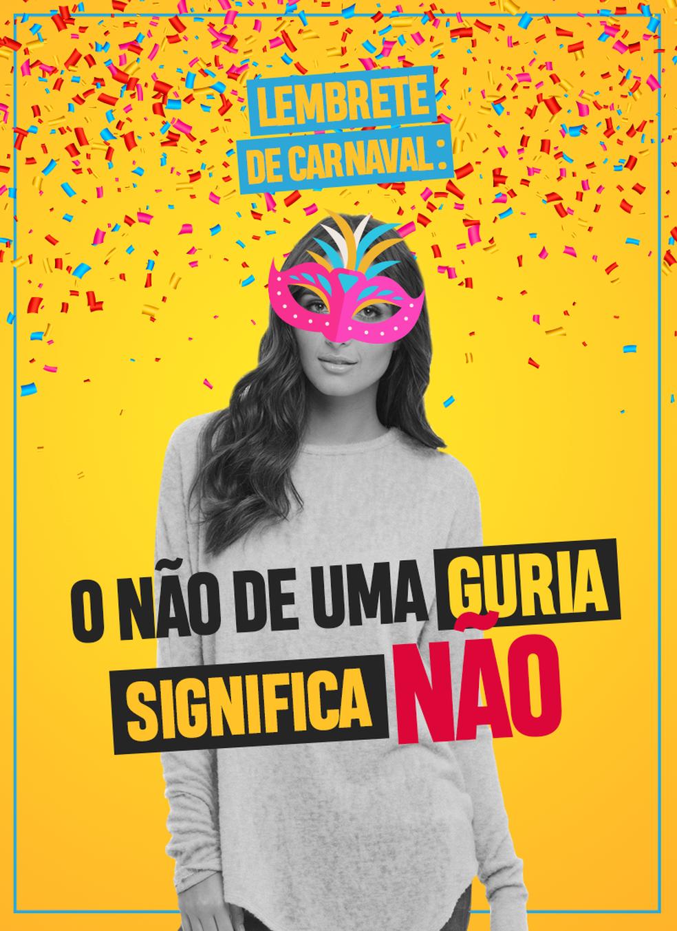 MP faz campanha com alertas para o carnaval (Foto: Ministério Público/Divulgação)