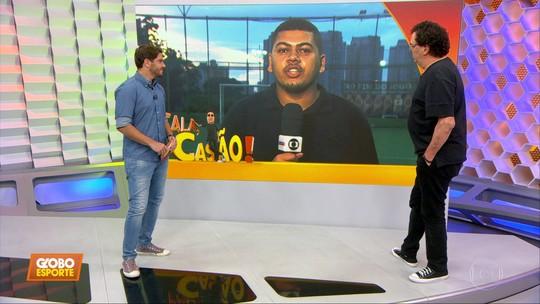 "Casagrande diz que Borja pode ser ""um jogador normal"", mas que merece ser titular do Palmeiras"