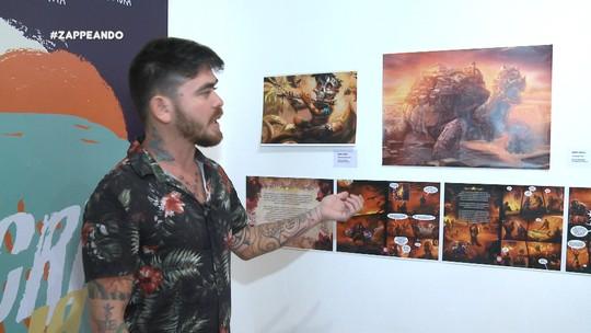 'Combo Z' mostra uma exposição geek com olhar amazônico