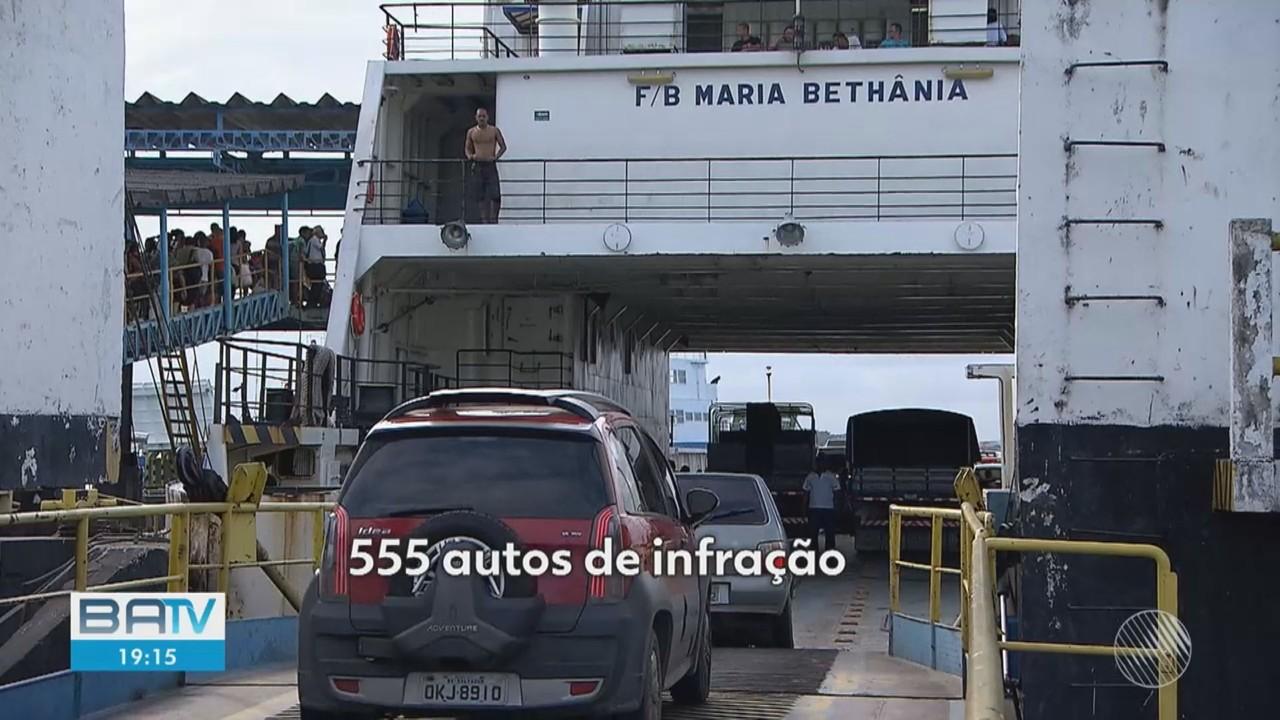Concessionária que administra o Sistema Ferry-boat é notificada pela justiça