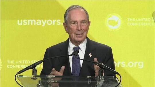 Michael Bloomberg anuncia pré-candidatura à presidência dos EUA