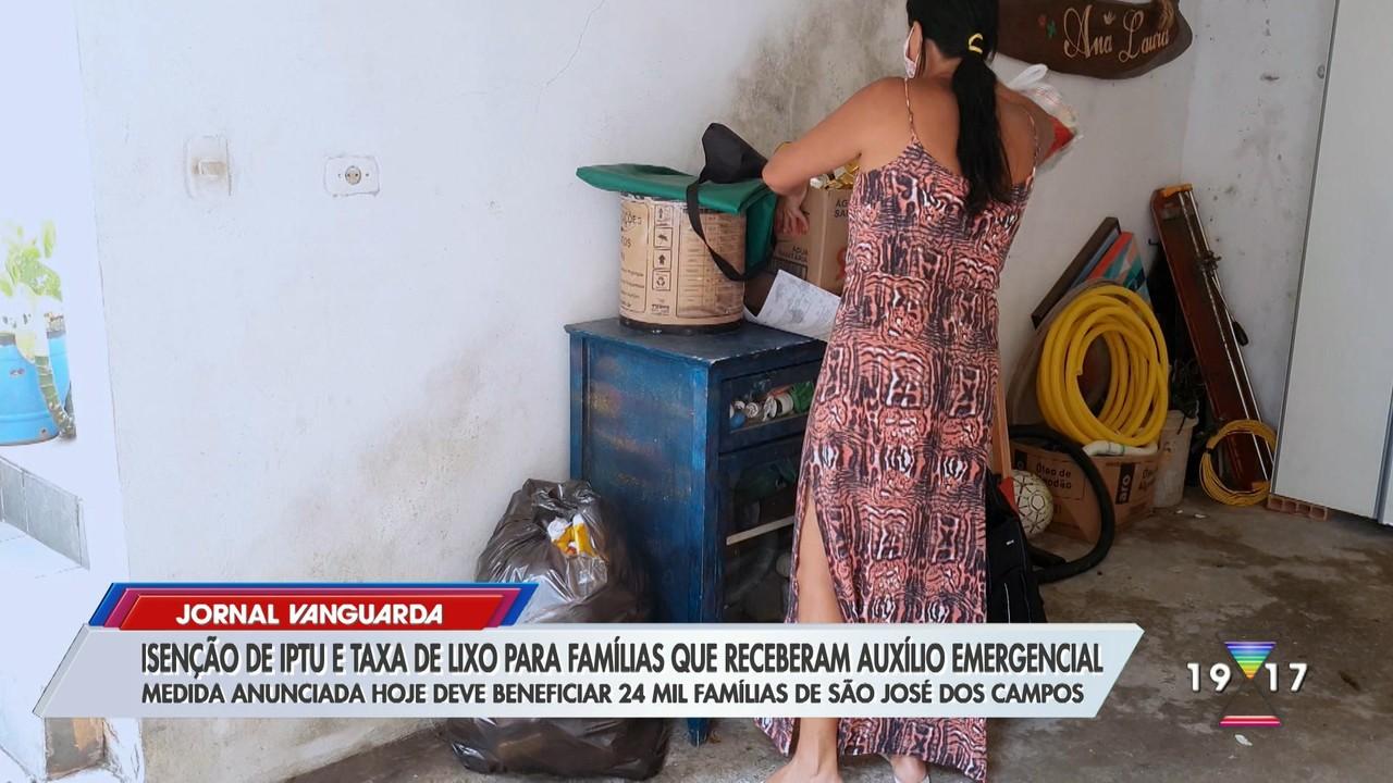São José dará Isenção de IPTU e taxa de lixo para famílias que receberam auxílio