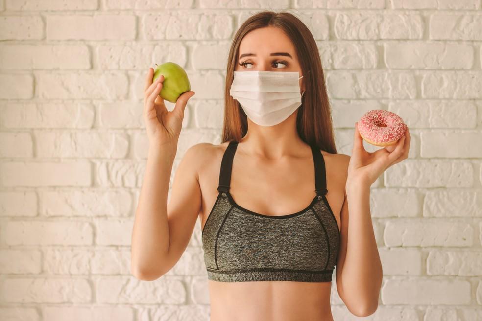 Dieta na quarentena: reavalie sua qualidade alimentar — Foto: Istock Getty Images