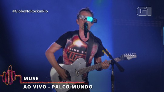 """Knights of Cydonia"" encerra participação do Muse no Rock in Rio 2019"