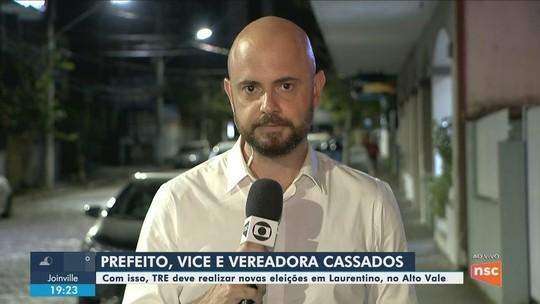 TRE-SC mantém cassação de prefeito e vice de Laurentino e determina novas eleições