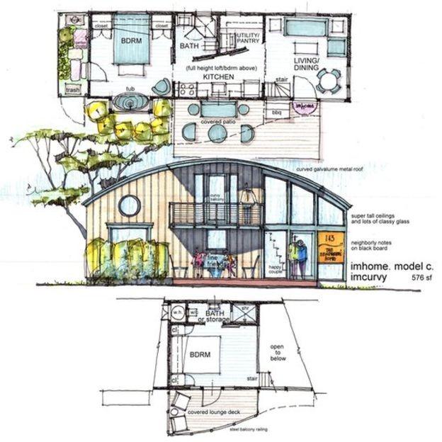 Esse tipo de residência existe em cidades como Chicago, Baltimore e Nashville (Foto: Divulgação/BBC)