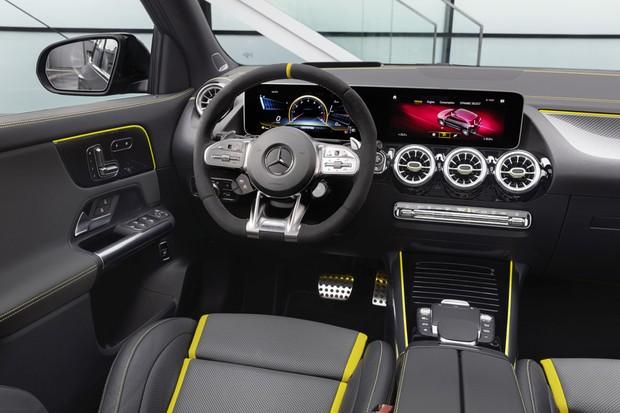 Mercedes-AMG GLA45 S interior (Foto: Divulgação)