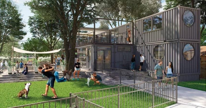 Casal cria bar para cães em Orlando com parque para brincar e cerveja