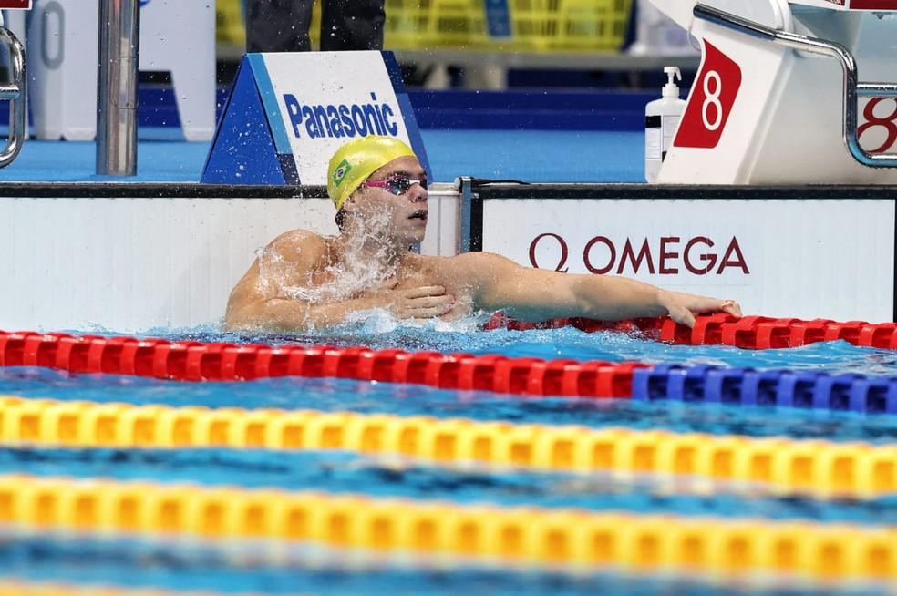 Gabriel Bandeira conquista quarta medalha nas Paralimpíadas — Foto: Miriam Jeske/CPB