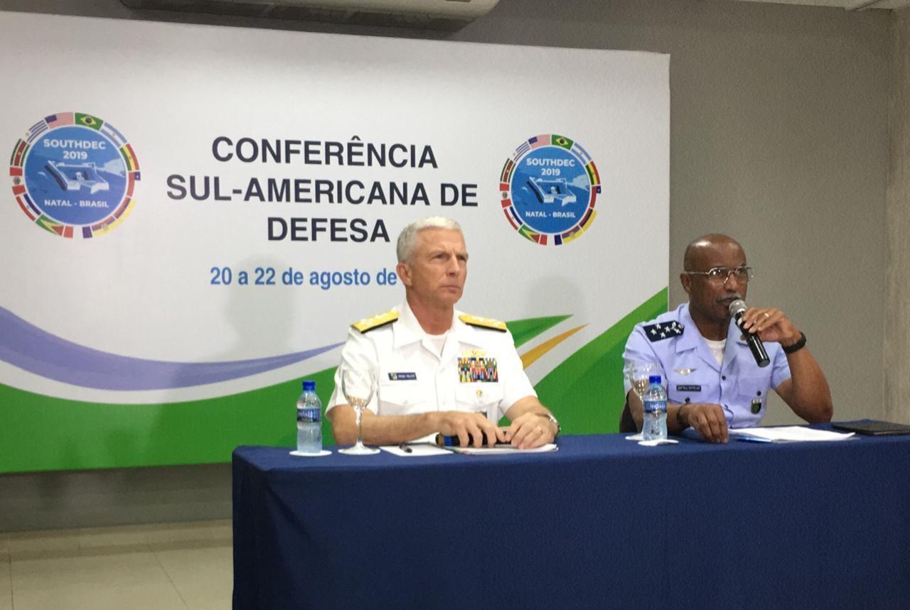 Em Natal, representantes de Brasil e EUA tratam situação da Venezuela em Conferência Sul-Americana de Defesa - Notícias - Plantão Diário