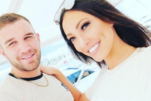 Aaron Armstrong e Sophie Gradon (Foto: Reprodução Instagram)