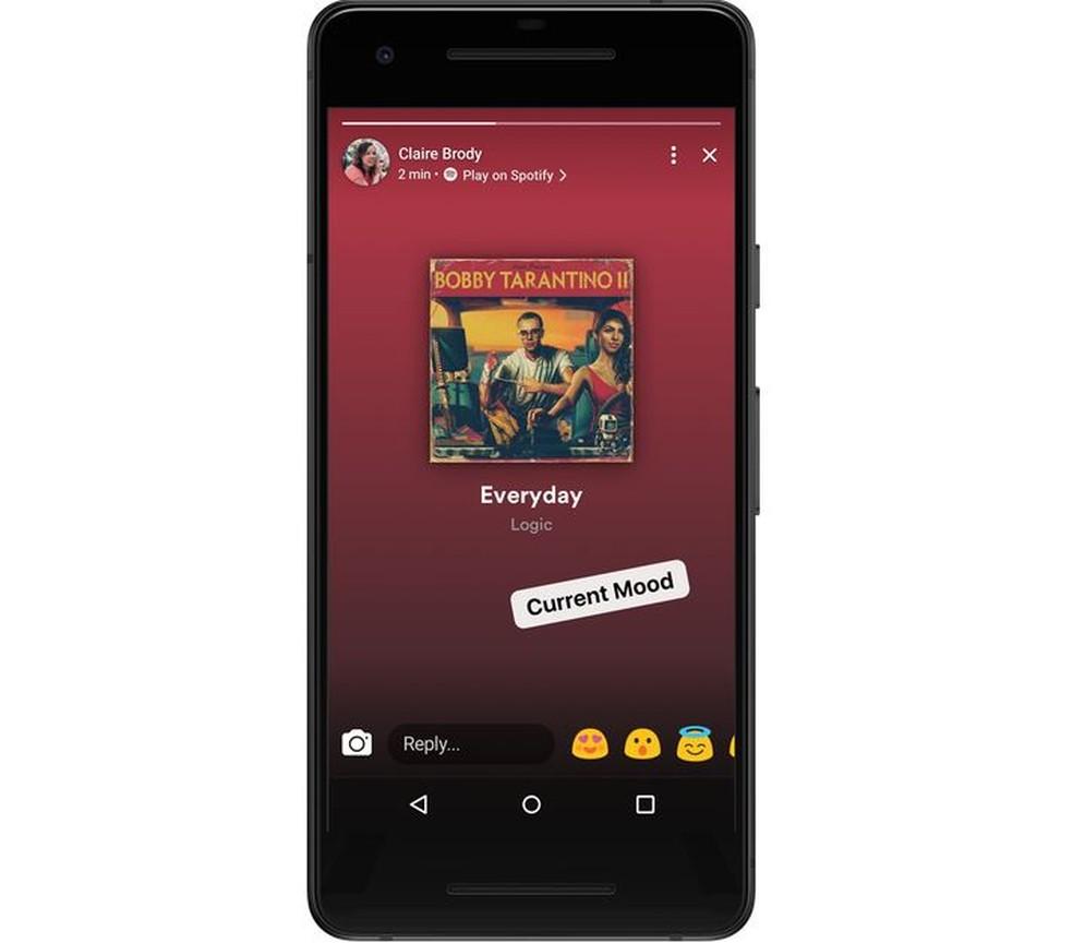 Facebook agora permite compartilhar tela do Spotify (Foto: Divulgação/Facebook)