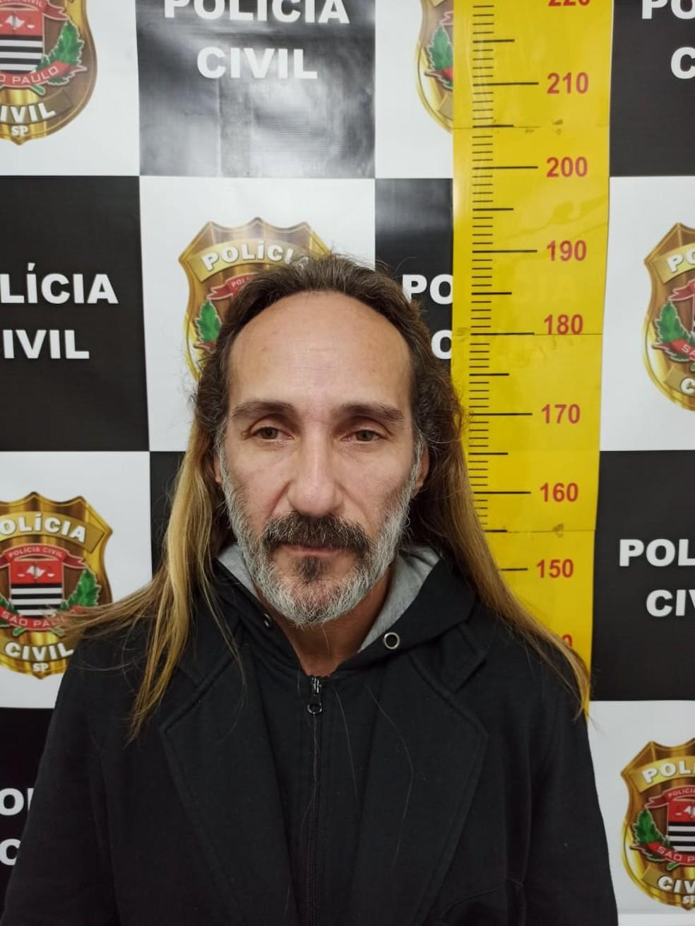 Ex-prefeito Felipe Santolia mantinha identidade falsa e se escondia no Litoral Norte — Foto: Divulgação/Polícia Civil