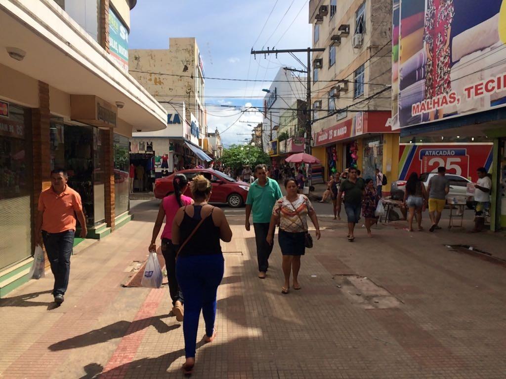 Lojas do centro comercial funcionarão no domingo, 10, em Santarém