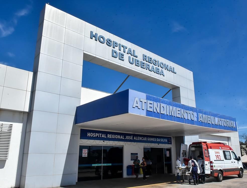 Hospital Regional de Uberaba José Alencar — Foto: André Santos/Prefeitura de Uberaba