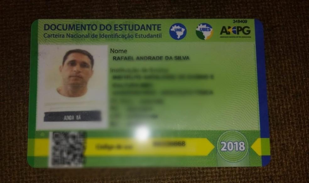 Policial aposentado Rafael Andrade da Silva foi morto neste sábado (12), no conjunto San Vale — Foto: Cedida/PM