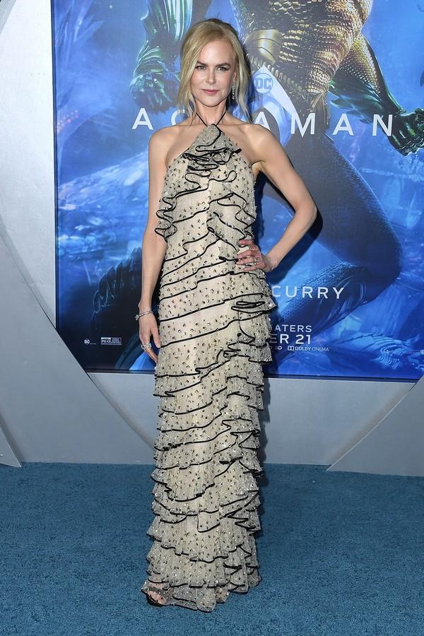 Vestido Giorgio Armani (Foto: Getty Images)