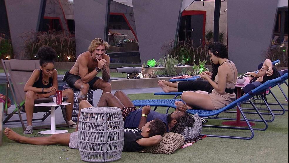 Jogo da Discórdia repercutiu durante a noite e madrugada! — Foto: TV Globo