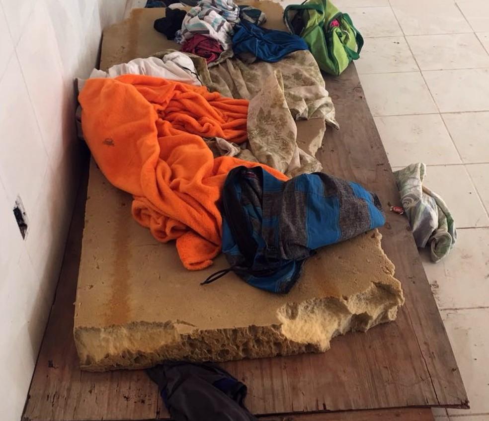 Trabalhadores foram resgatados após serem flagrados em condições de trabalho análogas ao escravo (Foto: Divulgação/MPT-BA)