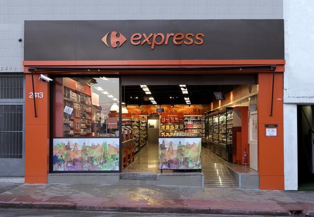 Fachada do Carrefour Express (Foto: Divulgação )