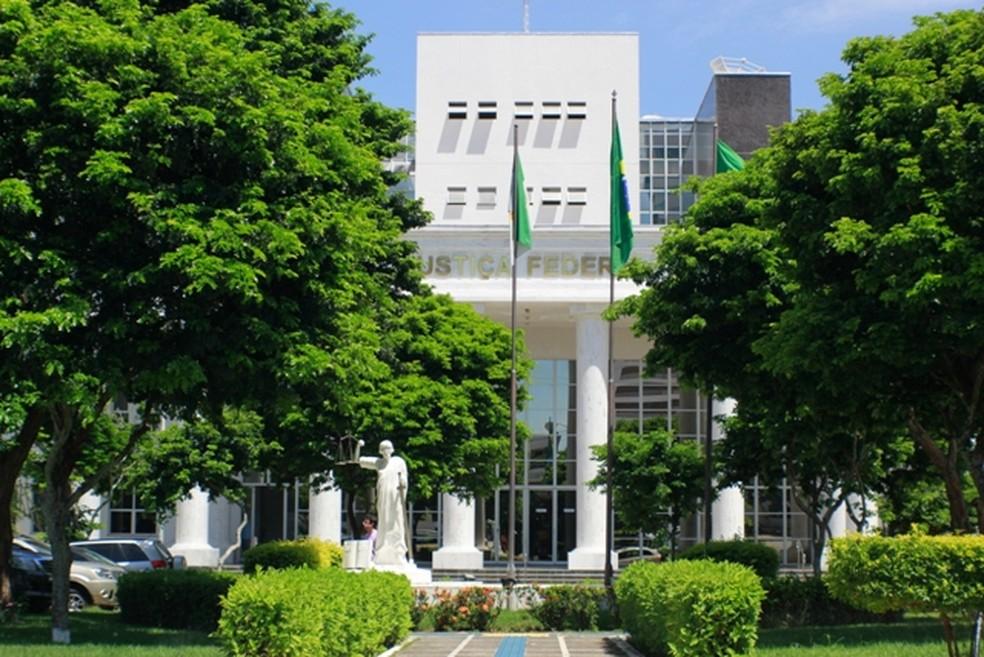 Sede da Justiça Federal do Rio Grande do Norte — Foto: Divulgação/JFRN