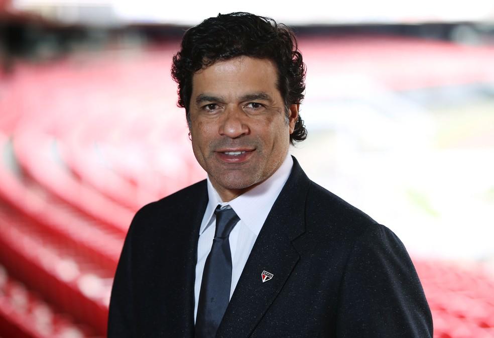 Raí é o novo diretor de futebol do São Paulo (Foto: Rubens Chiri / saopaulofc.net)