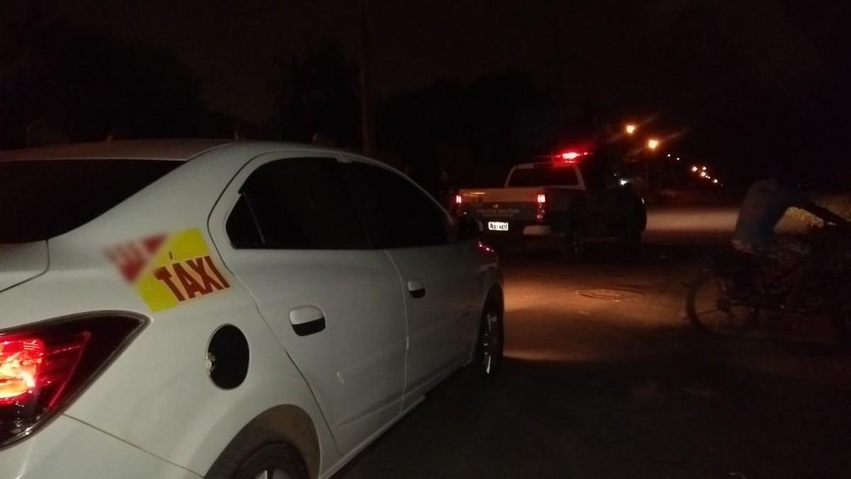 Taxista é ferido após tentativa de assalto em Boa Vista; suspeito foi detido por moradores