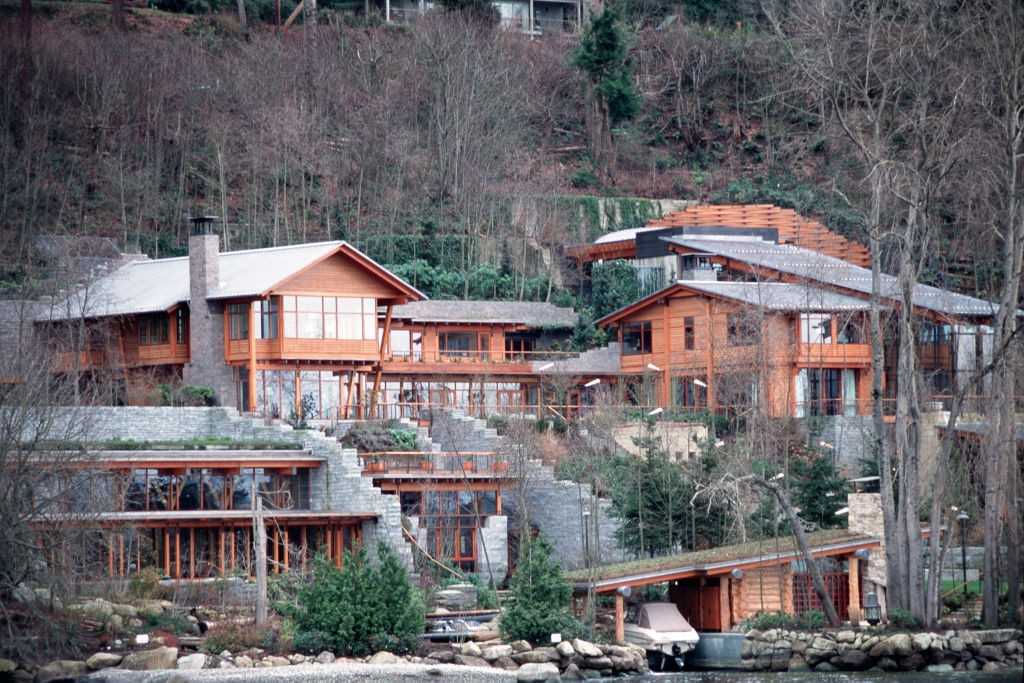 A casa de Bill Gates em Medina, Washington (Foto: Corbis via Getty Images)
