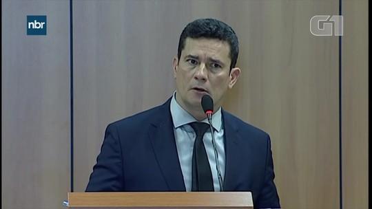 Moro diz que corrupção diminui recursos para o combate ao crime e adoção de políticas sociais