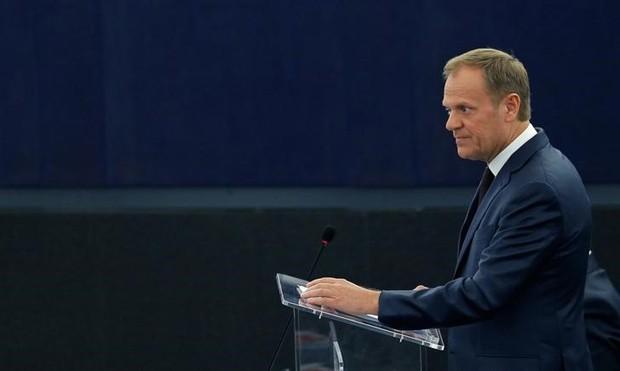 Para Donald Tusk, todos na União Europeia perderiam economicamente se o Reino Unido sair (Foto: Vincent Kessler/Reuters)