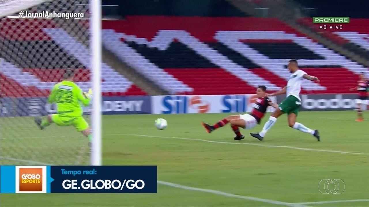 Goiás enfrenta o Flamengo no Maracanã, no Rio de Janeiro