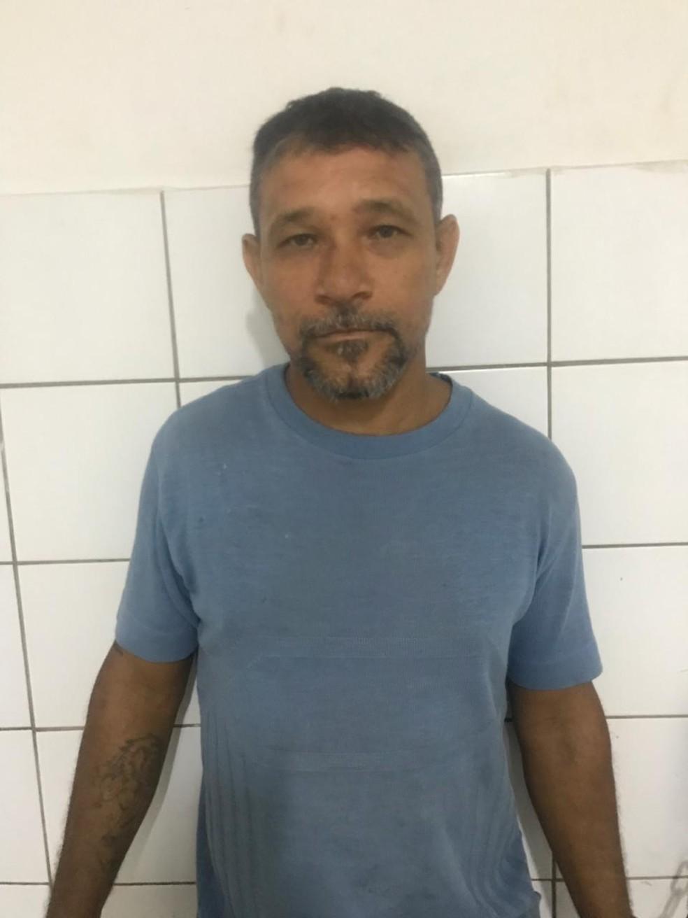 Silvano Paulino Anastácio, conhecido como Moésio, foi condenado por um homicídio duplamente qualificado. — Foto: PM/ Divulgação