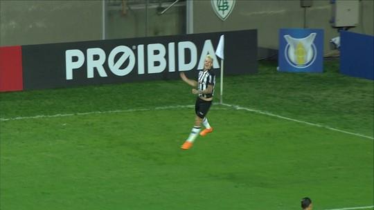 O gol de Atlético-MG 1 x 0 Cruzeiro pela 6ª rodada do Brasileirão 2018