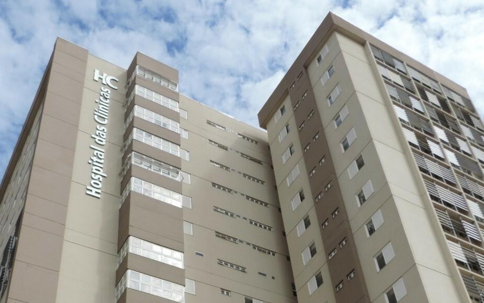 Hospital das Clínicas da UFG, em Goiânia, Goiás — Foto: Secom/UFG