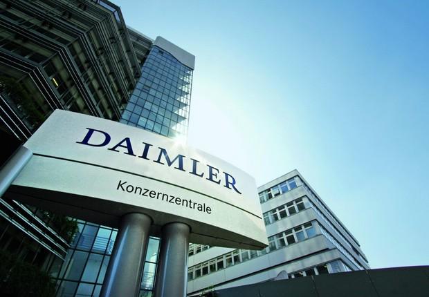 Sede da Daimler , empresa que controla a Mercedes-Benz (Foto: Divulgação)